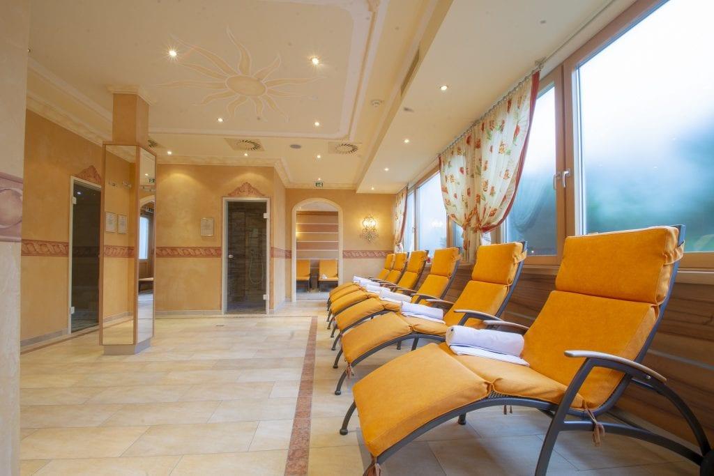 Wellnesss in Alberschwende - Hotel Engel - Ruhebereich