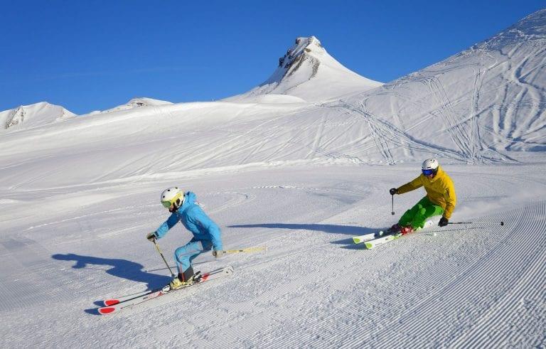 Skiing in the Mellau-Damüls ski area (Photo: Sepp Malaun/Damüls-Faschina Tourism)